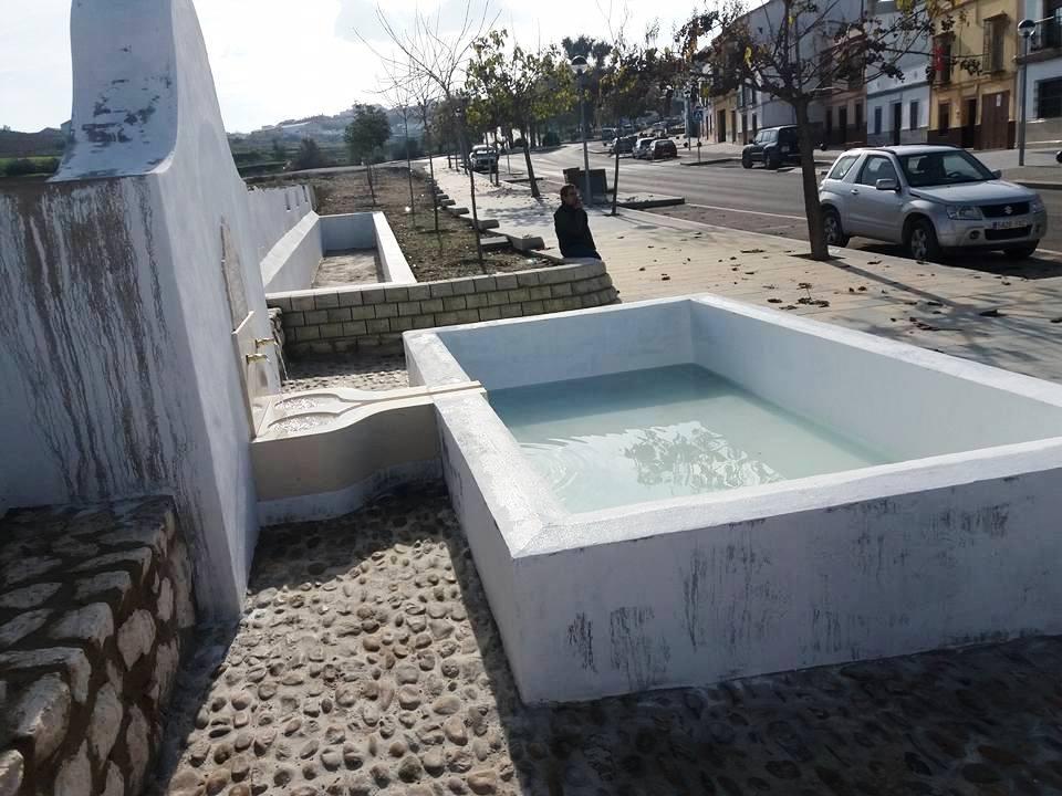 """El agua vuelve a la """"Fuentecita"""""""