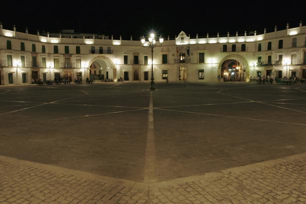 Plaza Octogonal de San JosŽ en Aguilar de la Fra.C—rdoba.Spain